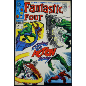 FANTASTIC FOUR #71 VF