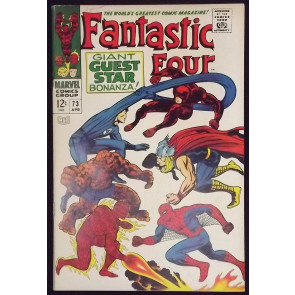FANTASTIC FOUR #73 VF THOR DAREDEVIL SPIDER-MAN