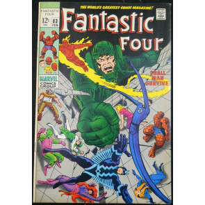 FANTASTIC FOUR #83 VF+