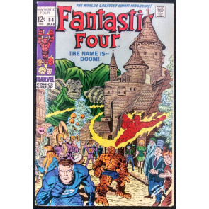 FANTASTIC FOUR #84 VF DR. DOOM COVER
