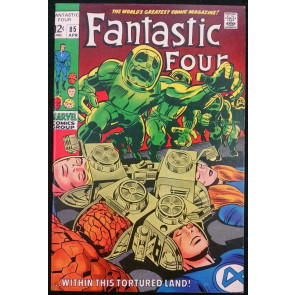 FANTASTIC FOUR #85 VF/NM DR. DOOM APPEARANCE