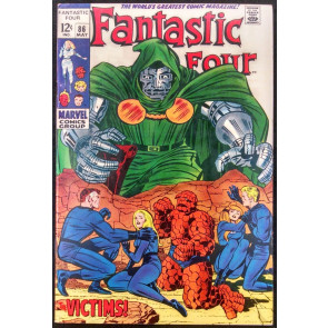 FANTASTIC FOUR #86 VF DR. DOOM COVER