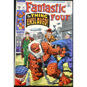 FANTASTIC FOUR #91 FN/VF