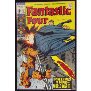 FANTASTIC FOUR #95 NM- JACK KIRBY STAN LEE