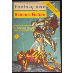 FANTASY & SCIENCE FICTION DIGEST JANUARY 1971 HARLAN ELLISON VAUGHN BODE RARE