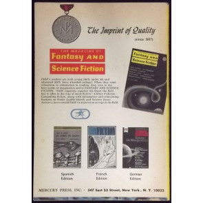 FANTASY & SCIENCE FICTION DIGEST JANUARY 1971 HARLAN ELLISON VAUGHN BODE RARE