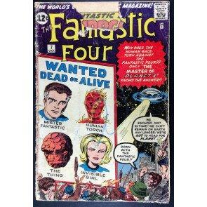 Fantastic Four (1961) #7 FR (1.0) 1st app Kurrgo Stan Lee Jack Kirby