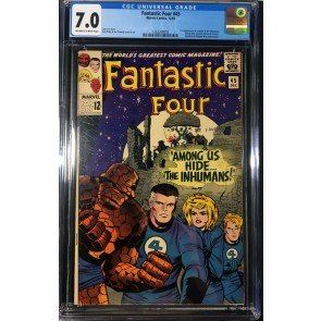 Fantastic Four (1961) #45 CGC 7.0 1st appearance Inhumans (1362208005)