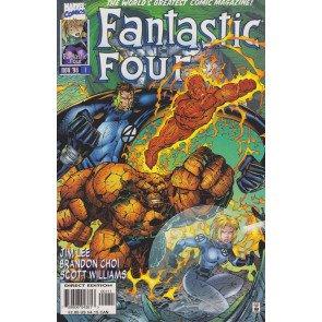 FANTASTIC FOUR (1996) #1 VF+ JIM LEE COVER