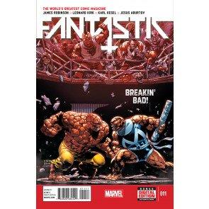 FANTASTIC FOUR (2014) #11 VF/NM MARVEL NOW!