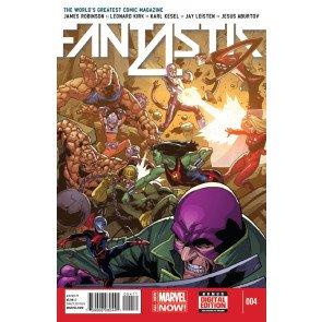FANTASTIC FOUR (2014) #4 VF/NM MARVEL NOW!