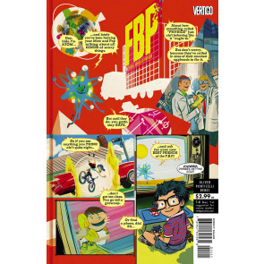 FBP: FEDERAL BUREAU OF PHYSICS #14 VF+ VERTIGO