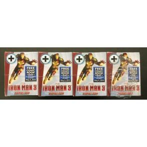 FCBD 2013 Iron Man 3 Movie Heroclix Sealed Case of 20 Free Comic Book Day