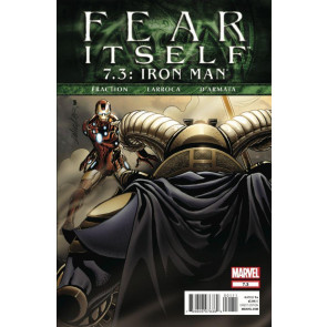 FEAR ITSELF #7.3 IRON MAN NM FRACTION LARROCA
