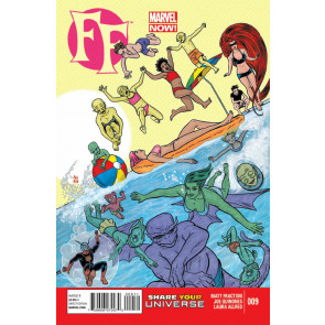 FF (2012) #8 NM MARVEL NOW!