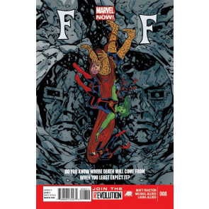 FF (2012) #8 VF/NM MARVEL NOW!