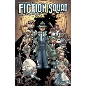FICTION SQUAD (2014) #1 OF 6 VF/NM COVER A BOOM!