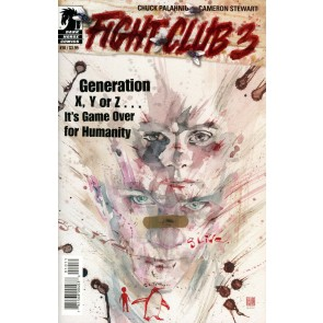 Fight Club 3 (2019) #10 VF/NM David Mack Cover Dark Horse Comics