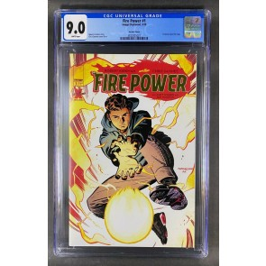 Fire Power (2020) #1 CGC 9.0 White Pages Gold Foil Logo Variant (3822925021)