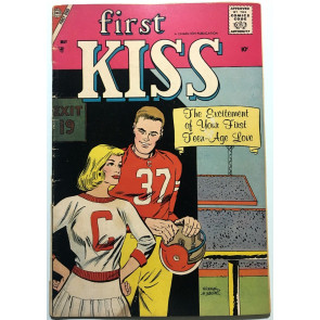 First Kiss (1957) #3 VG (4.0) Charlton Comics Romance