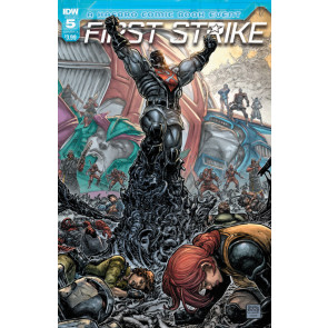 First Strike (2017) #5 VF/NM Freddie E. Williams II  Cover IDW