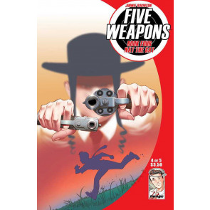 FIVE WEAPONS #4 OF 5 FN/VF IMAGE COMICS