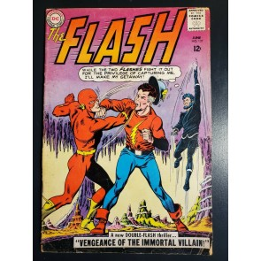 Flash #137 (1963) G+ (2.5) 1st Silver Age Vandal Savage, Golden Age flash app. |