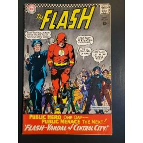 Flash #164 (1966) VG (4.0) Infantino art 