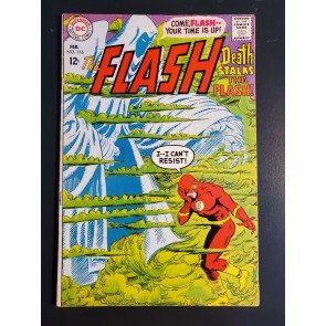 Flash #176 (1968) VG+ 4.5 Death Stalks the Flash   