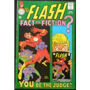 FLASH #179 FN/VF FLASH TRAVELS TO EARTH PRIME AND MEETS DC EDITOR JULIE SCHWARTZ