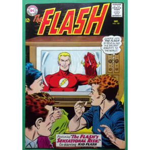 FLASH (1959) #149 FN+ (6.5) co-starring Kid Flash