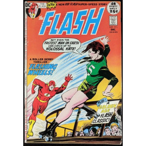FLASH (1959) #211 VG/FN (5.0) 52 page giant Neal Adams cover