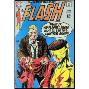 FLASH (1959) #189 VG (4.0) Kid Flash Joe Kubert cover