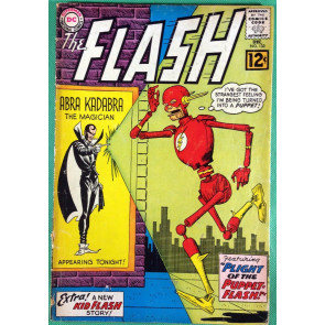 FLASH (1959) #133 GD (2.0) vs Abra Kadabra