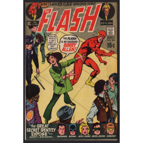 FLASH (1959) #204 FN+ (6.5) new Kid Flash (Wally West) story & JLA / Neal Adams
