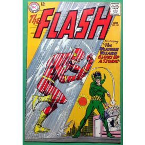 FLASH (1959) #145 FN (6.0) vs Weather Wizard