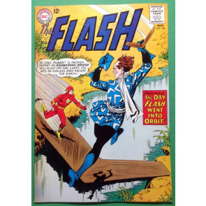 FLASH (1959) #148 FN+ (6.5) vs Boomerang