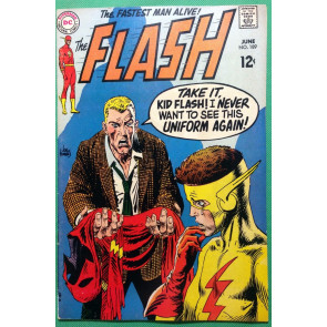 FLASH (1959) #189 FN/VF (7.0) Kid Flash Kubert cover