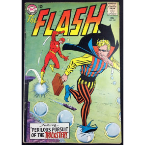 Flash (1959) #142 VG+ (4.5) Trickster cover & app