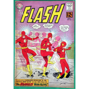 FLASH (1959) #132 GD+ (2.5)