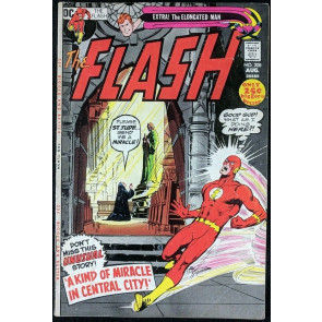 FLASH (1959) #208 VG/FN (5.0) Neal Adams cover 52 page giant