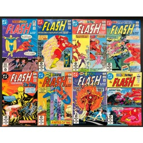 Flash (1959) #306 307 308 309-313 VF/NM complete 8 part Dr. Fate Backup series