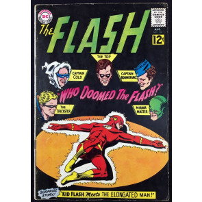 Flash (1959) #130 VG+ (4.5) 1st Gauntlet of Super-Villains Rogues Gallery cover