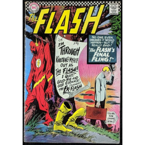 FLASH (1959) #159 VG (4.0) Dr. Mid-Nite cameo