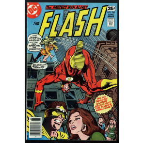 Flash (1959) #262 FN+ (6.5) vs Golden Glider & Ring Master