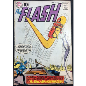 Flash (1959) #124 VG/FN (5.0) Captain Boomerang & Elongated Man cover