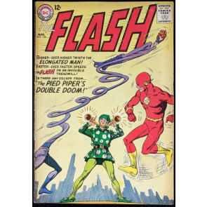 FLASH (1959) #138 VG/FN (5.0) Elongated Man & Pied Piper cover
