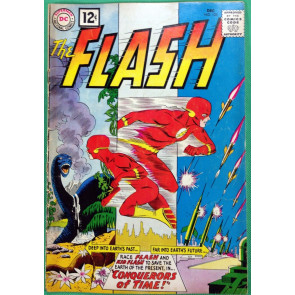 FLASH (1959) #125 VG- (3.5) Conquerors of Time story