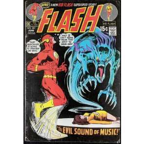 FLASH (1959) #207 VG+ (4.5) Neal Adams cover