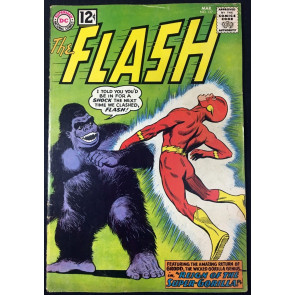 Flash (1959) #127 VG+ (4.5) Gorilla Grodd cover & story